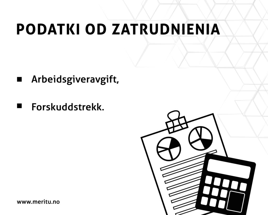 Podatki od zatrudnienia w firmie w Norwegii