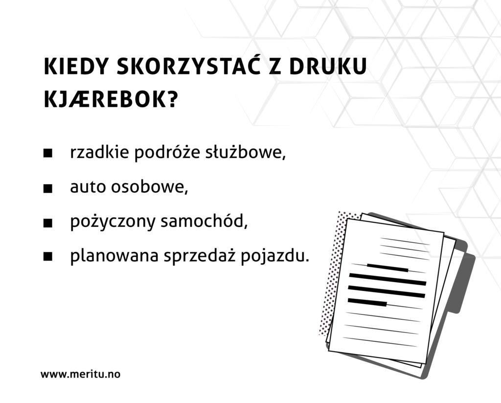 Jak ująć samochód w kosztach firmy? Kiedy należy skorzystać z drukukjaerebok?