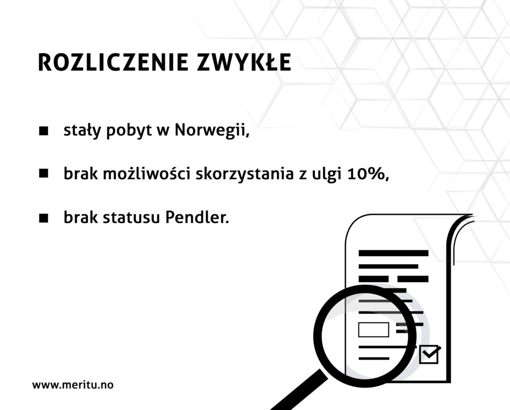 Co można odliczyć od podatku przy rozliczeniu zwykłym w Norwegii